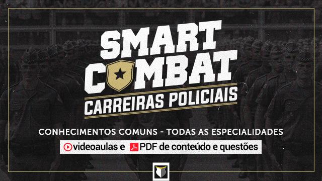 SmartCombat - para Carreiras Policiais (Todas as áreas)