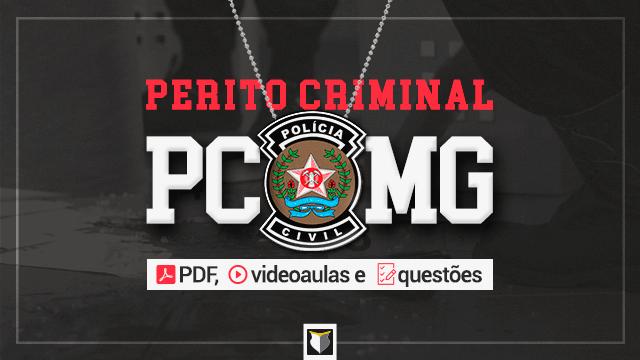Curso - Perito Criminal da Polícia Civil de MG
