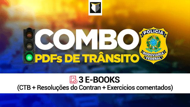 Combo - E-books de Legislação de Trânsito