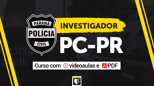 Investigador da Polícia Civil do PR